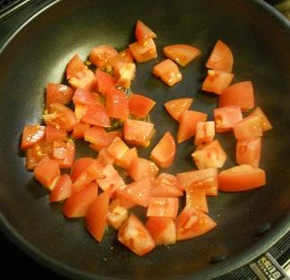ふわふわ卵とトマトのチャーハン3