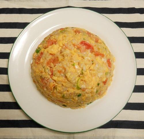ふわふわ卵とトマトのチャーハン9