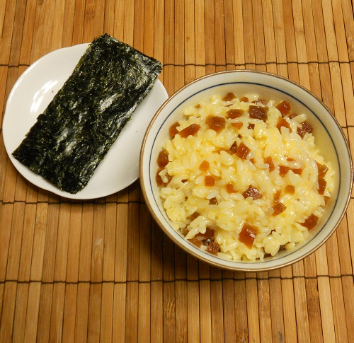 桂うりの味淋漬入り卵かけご飯6
