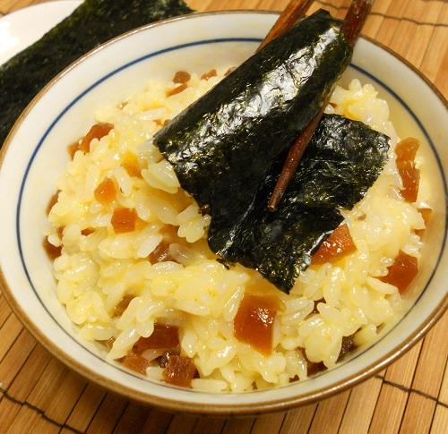 桂うりの味淋漬入り卵かけご飯8