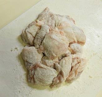 鶏もも肉の甘辛ハニみそ焼き3