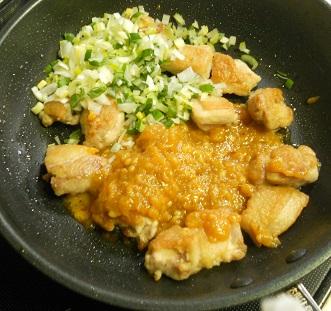 鶏もも肉の甘辛ハニみそ焼き6