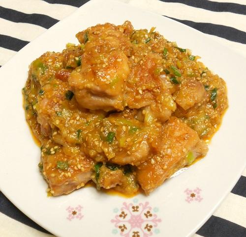 鶏もも肉の甘辛ハニみそ焼き8