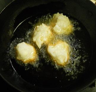 新タマネギの炊きこみご飯自家製さつま揚げ6