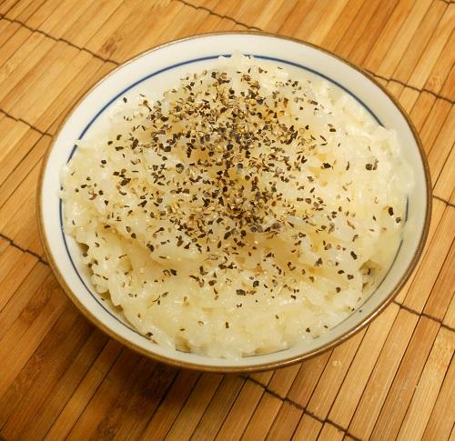 新タマネギの炊きこみご飯自家製さつま揚げ9