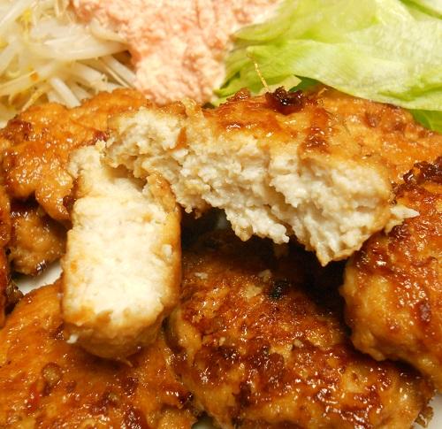 鶏つくねの照り焼き8