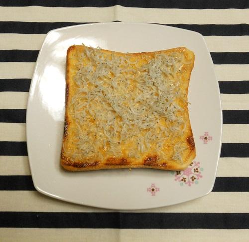 絶品ちりめんトーストちくわちーずトースト5