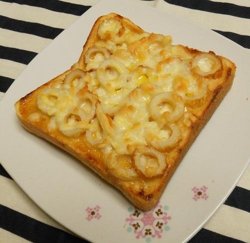 絶品ちりめんトーストちくわちーずトースト8