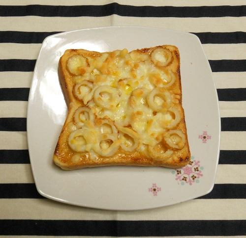 絶品ちりめんトーストちくわちーずトースト7