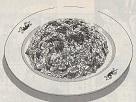 手作りラー油のニラ玉チャーハン図