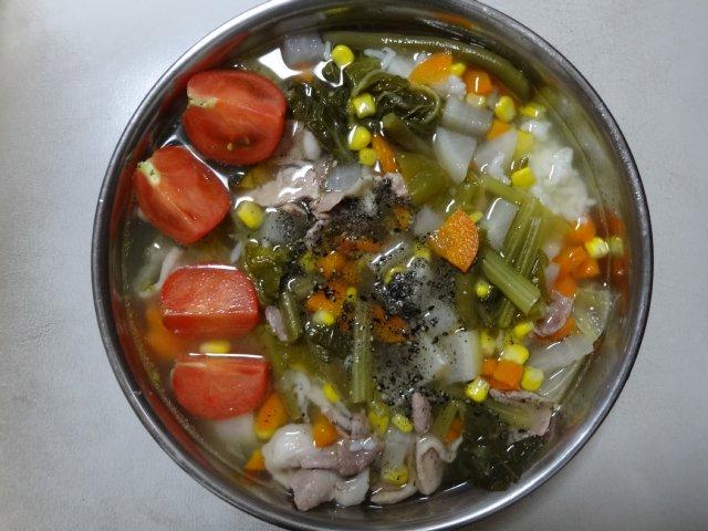 犬の手作りご飯05
