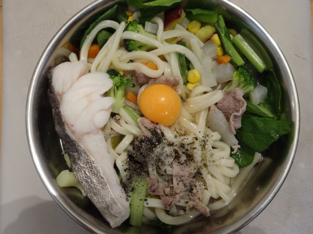 犬の手作りご飯07