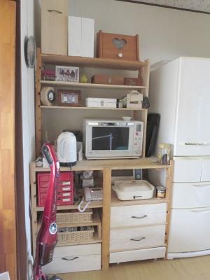 キッチンとBRUNO収納 (1)