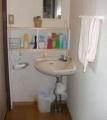 洗面所 棚と作った時