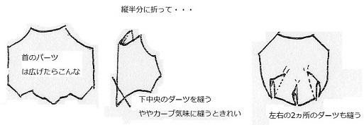 03 ダーツ 首のパーツ