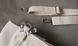 キャンバス生地のバッグ 13肩掛けストラップ