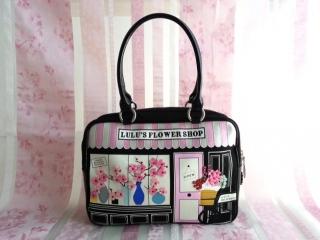 日本ルルギネス六本木店10周年記念限定の桜バッグ