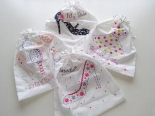 吉祥寺300円均一ショップcoucouのトラベル巾着