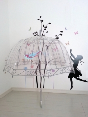 ルルギネス鳥かごビニール傘