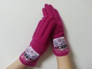 ルルピンク手袋