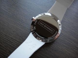 ルルリップ時計裏側