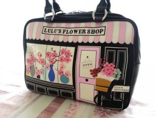 ルルギネス桜フラワーショップバッグ日本限定