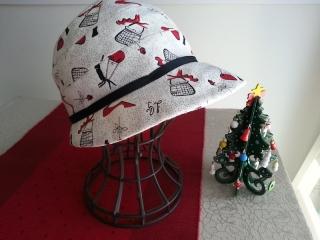 ルルギネス帽子バラハイヒール1