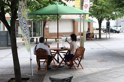 オープンカフェ5