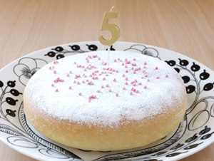 誕生日ケーキ アレルギー