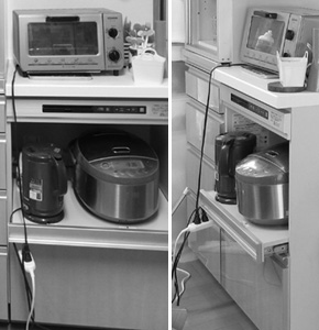 キッチン オーガナイズ