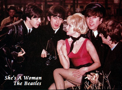 She's A Woman - The Beatles