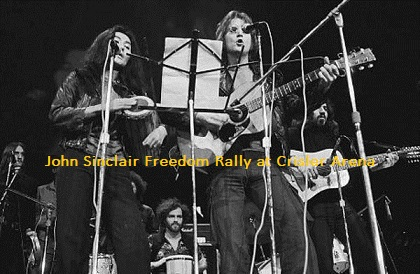 John Sinclair Freedom Rally at Crisler Arena