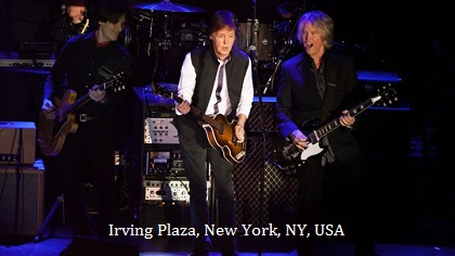 at Irving Plaza, New York, NY, USA