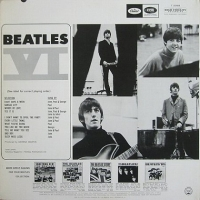US編集盤『Beatles VI』(Back)