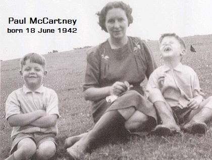 ポール・マッカ―トニーと母