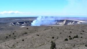 ハワイ島のハレマウマウ火口