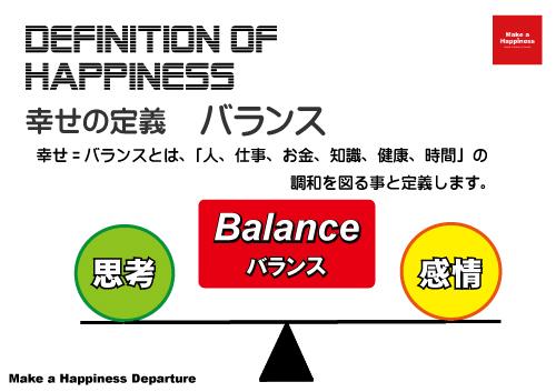 幸せの定義