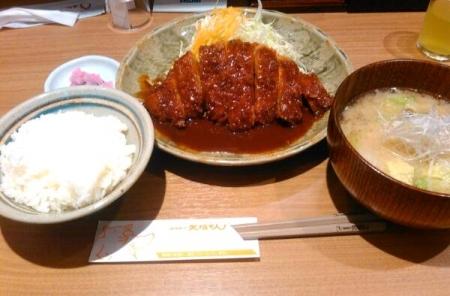 20150522ロースカツ定食