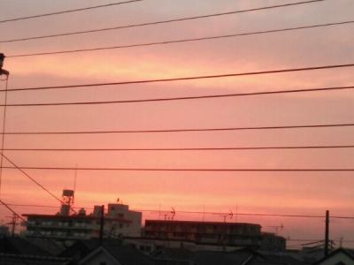 20150531夕焼け