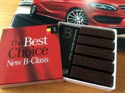 もうすぐバレンタイン、今年も高級チョコ配ってますね