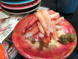 北海道物産展の折込広告を見る度に蟹が食べたくなっていた