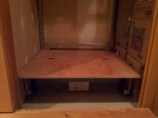 倉庫DIY棚3
