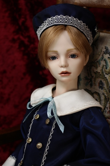 Alto Boys~少年たち~帽子少年人形