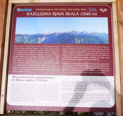 Bohinj mountain