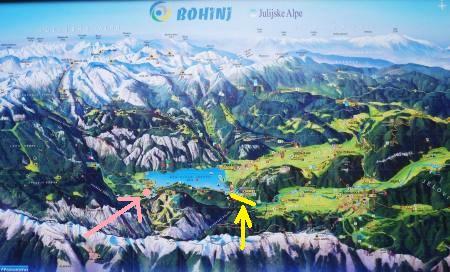 Bohinj map