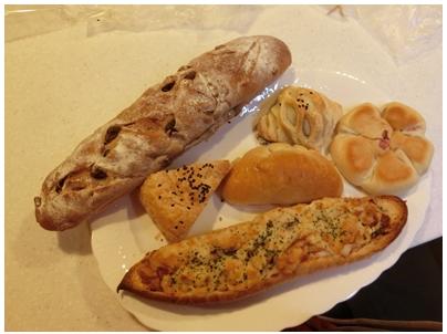 6種のパン