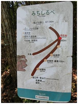 飯山町から道しるべ