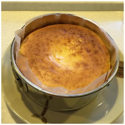 豆腐のチーズケーキ3