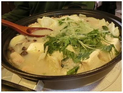 ごま豆乳鍋1