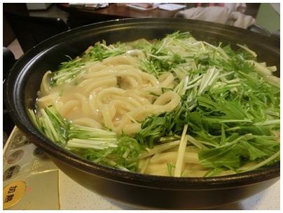 ごま豆乳鍋2(うどん)
